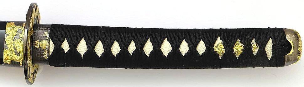 Samurai Drachen black Schwerter 3er Set kaufen