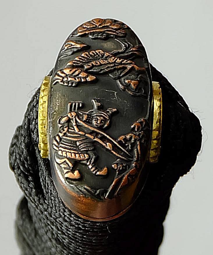 Samurai Katana kaufen Keitai + gefaltet- Damast