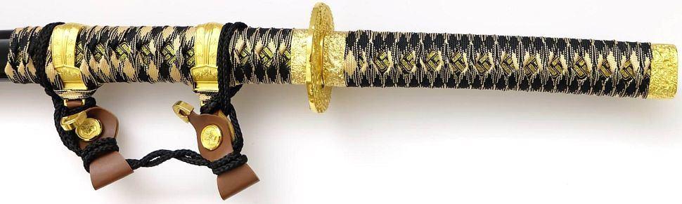 Samurai Katana Schwerter schwarz Set kaufen