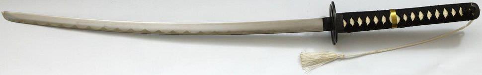 Samurai Schwert- Katana + Miyamoto Musashi Tsuba