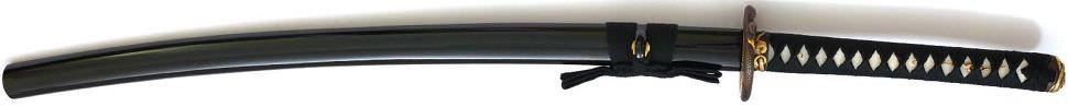 Samurai Schwert- Katana Snake + Gefaltet- damast + Hamon kaufen