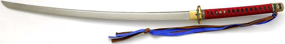 Samurai Schwert- Katana Damast- gefaltet Osahito kaufen