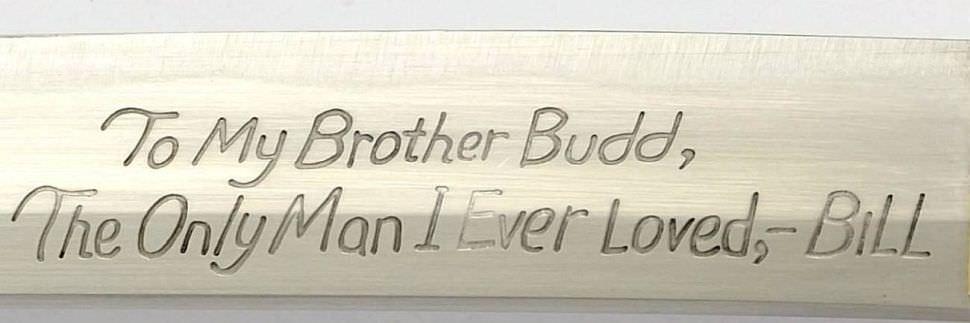 Samurai Schwert kaufen Hattori Hanzo Katana für Budd Handgeschmiedet