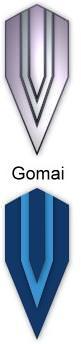 Samurai Tanto + Gomai + Damast- gefaltet Murakami
