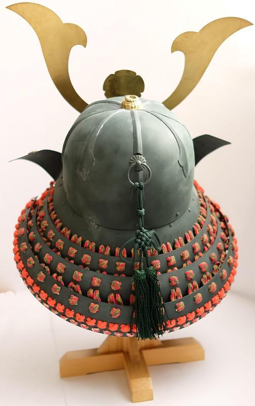 Samuraihelm Oda Nobunaga kaufen von Hinten