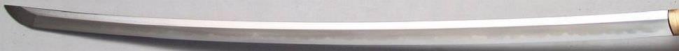 Samuraischwert- Katana Reizein kaufen + Soshu Kitae Klinge + echter Hamon + bambus