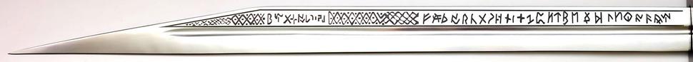 Sax Schwert kaufen das Langsax + echt + scharf Die Klinge