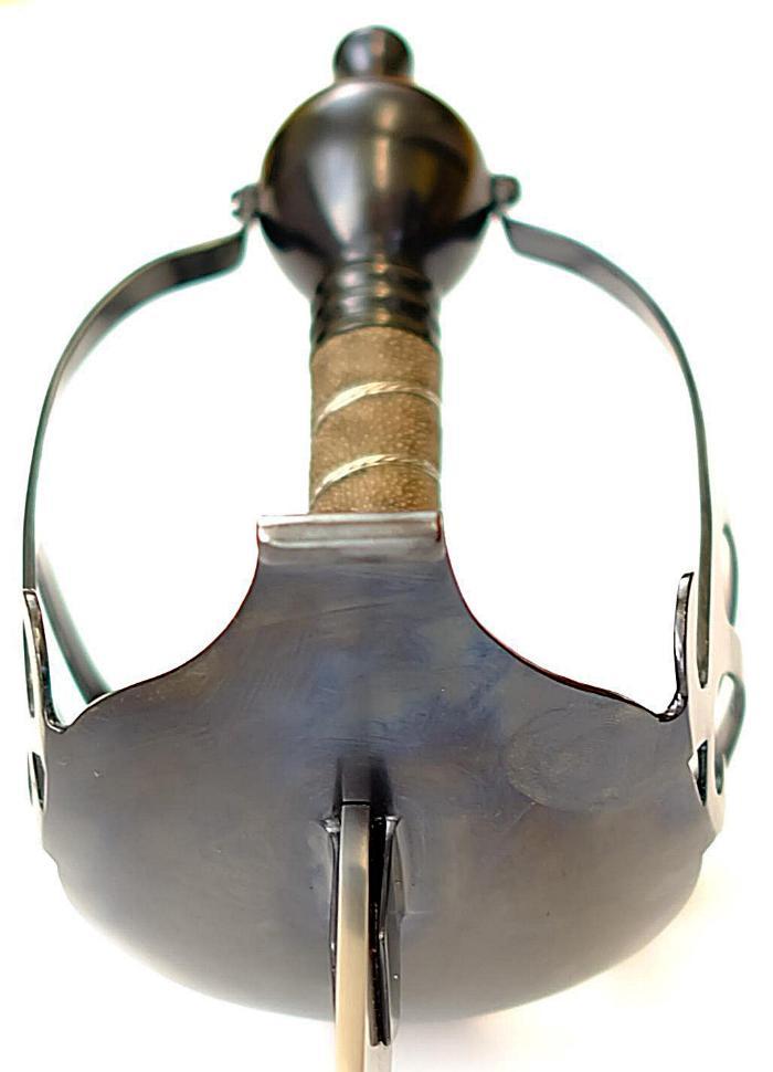 Schottisches Breitschwert Basket Hilt Mortuary Half Sword