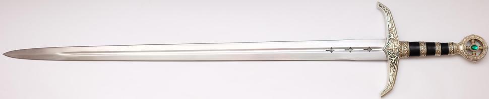Schwert Robin Hood von Locksley + echtes + Scharf ohne Scheide