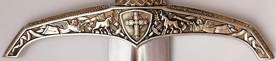 Schwert Robin Hood von Locksley + echtes + Scharf die Parierstange