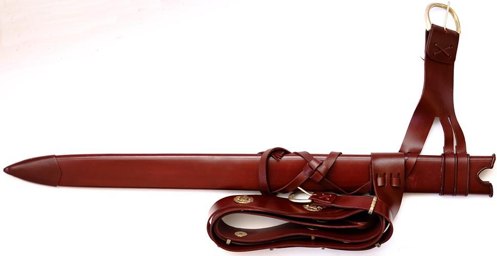 Schwert von Roland Das Durandal + echtes Mittelalter Scheide