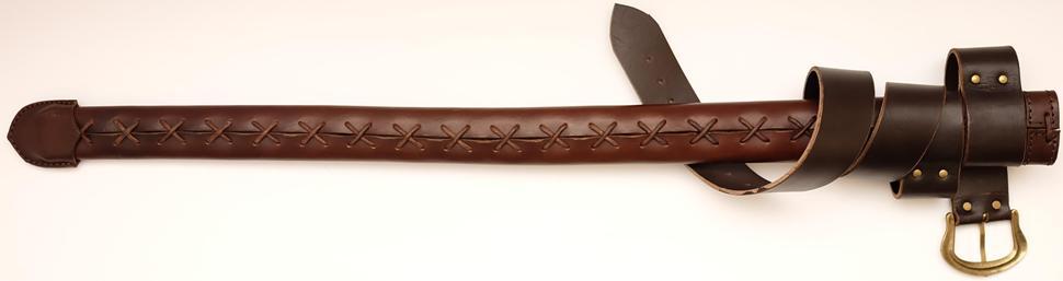 Schwertscheide kaufen Standardversion für Ritterschwerter und Wikingerschwerter rückseite