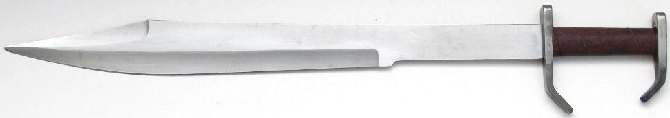 Schwert der 300 Spartanern + Einzelstück + Scharf + Handgeschmiedet
