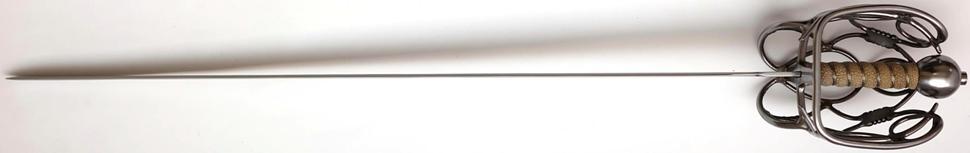 Spätes Schottisches Breitschwert 16 jhd + Kampfschwert + scharf seitlich