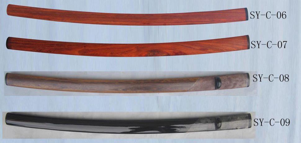Schwertscheide Einzelanfertigungsset Teil 1 von 6