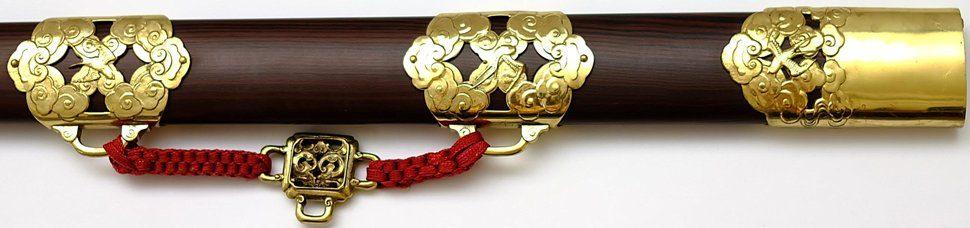 Tai Chi Schwalben langes Schwert Swallow von Hanwei beschläge