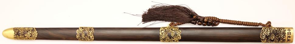 Tai Chi Schwert aus Damast kaufen- gefaltet Schmiede Longquan schwertscheide
