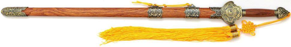 Tai Chi Schwert kaufen Drachen Yin Yang - Shu Han