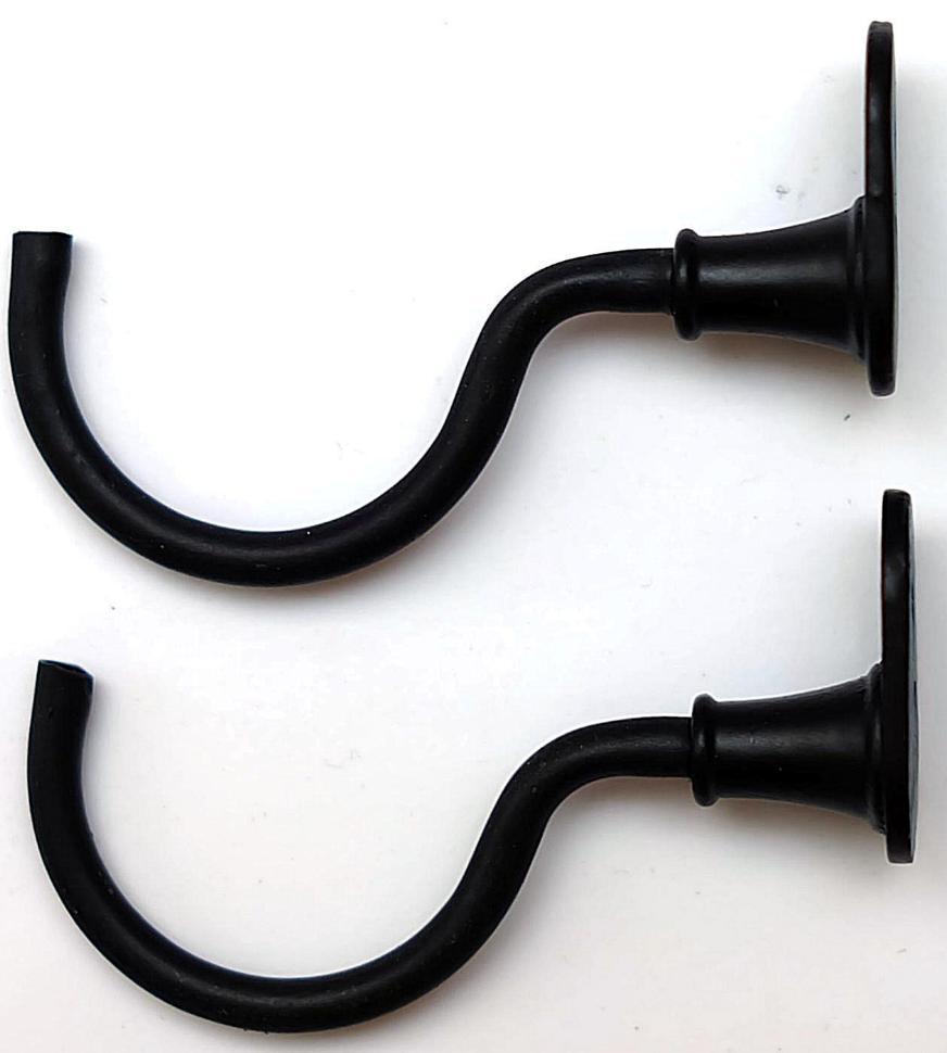 Wandhaken für Samurai Schwert, in schwarz