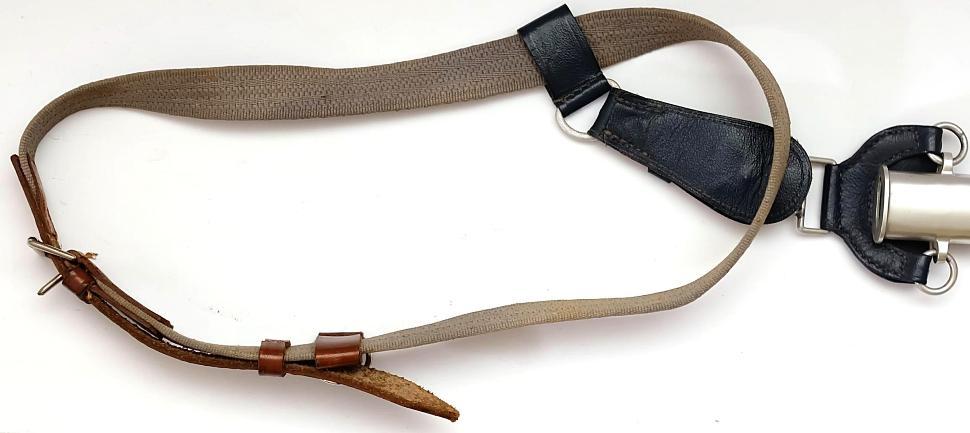 Wehrmacht Luftwaffe (WL) Schwert für Offiziere Original mit Unterschnallgurt Detail