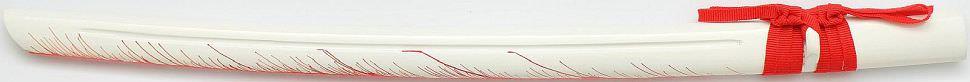 weißes Blut Feuer Flamen Samurai Katana kaufen