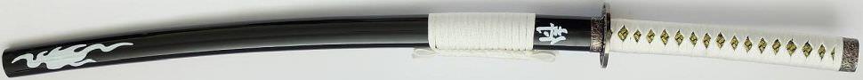 weißes Feuer Samurai Katana Schwert kaufen