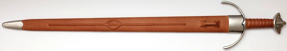 Wikingerschwert Cawood 11. Jahrhundert + scharf + echt von Hanwei